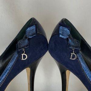 Christian Dior Navy High Heel Pump